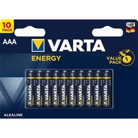 Baterie alkalická Varta Energy AAA, LR03, blistr 10ks (4103229491)