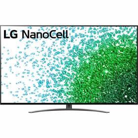 Televize LG 75NANO81P šedá