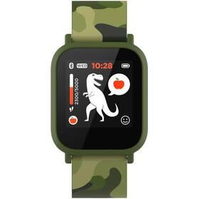 Chytré hodinky Canyon My Dino KW-33 - dětské (CNE-KW33GB) zelený