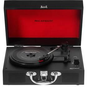 Gramofon Ricatech RTT20 Revolution černý/červený