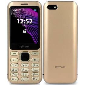 Mobilní telefon myPhone Maestro - ZÁNOVNÍ - 12 měsíců záruka zlatý