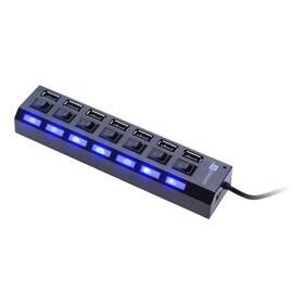 USB Hub Connect IT USB 2.0 / 7x USB 2.0 (CI-541) černý