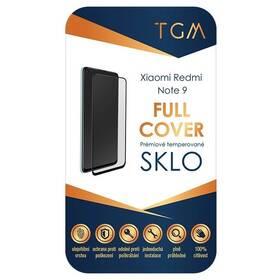 Tvrzené sklo TGM Full Cover na Xiaomi Redmi Note 9 (TGMXIAREDNOT9) černé