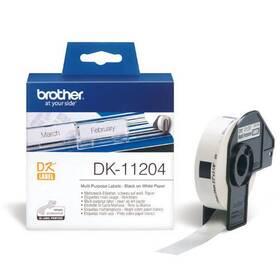 Papírový štítek Brother univerzální, 400ks, 17 x 54 mm (DK11204)