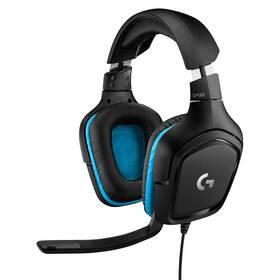 Headset Logitech G432 7.1 Surround Sound (981-000770) černý
