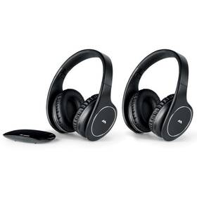 Sluchátka Meliconi HP Easy Digital Bundle (497320) černá