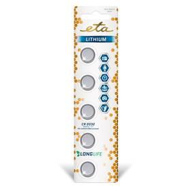 Baterie lithiová ETA PREMIUM CR2032, blistr 5ks (CR2032LITH5)