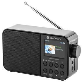 Radiopřijímač s DAB+ GoGEN DAB 500 BT C černý
