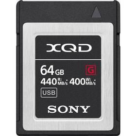 Paměťová karta Sony XQD G 64 GB (440R/400W) (QDG64F.SYM)