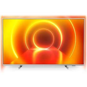 Televize Philips 65PUS7855 stříbrná