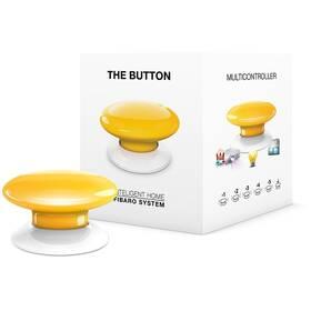 Tlačítko Fibaro Button, Z-Wave Plus (FIB-FGPB-104-ZW5) žluté
