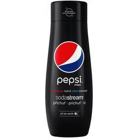 Příchuť pro perlivou vodu SodaStream Pepsi MAX 440 ml