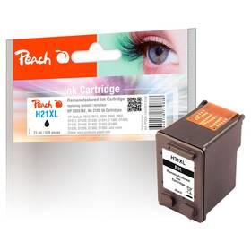 Inkoustová náplň Peach HP 21 XL,520 stran, kompatibilní (313168) černá