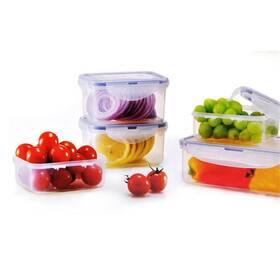 Sada potravinových dóz Lock&lock HPL806S5 5 ks plast
