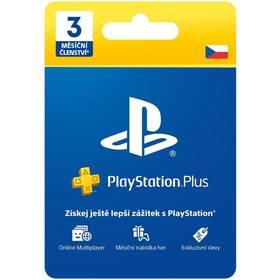 Předplacená karta Sony PLAYSTATION PLUS 3 MĚSÍCE – DÁRKOVÁ KARTA - pouze pro CZ PS Store (PS719810742)