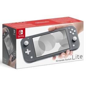 Herní konzole Nintendo Switch Lite (NSH100) šedá