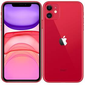 Mobilní telefon Apple iPhone 11 256 GB - (PRODUCT)RED (MHDR3CN/A)