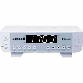 Radiopřijímač Lenco KCR-100 bílý