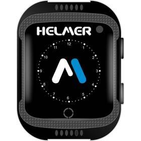 Chytré hodinky Helmer LK 707 dětské s GPS lokátorem - ZÁNOVNÍ - 12 měsíců záruka černý