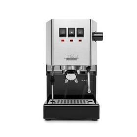 Espresso Gaggia Classic New Plus černé/nerez/ocel