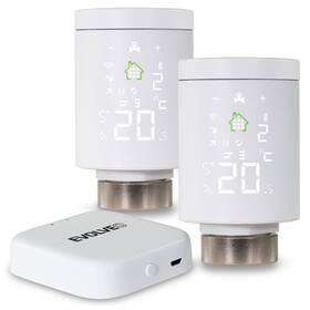 Bezdrátová termohlavice Evolveo Heat M30 Starter Pack, 2x hlavice + centrální jednotka (EVO-RV-M30SP)