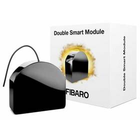 Modul Fibaro Dvojitý smart modul, Z-Wave Plus (FIB-FGS-224-ZW5)