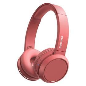 Sluchátka Philips TAH4205RD (TAH4205RD/00) červená