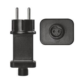 Napájecí adaptér EMOS pro vánoční spojovací osvětlení Standard/Profi, venkovní i vnitřní (D1ZB04)