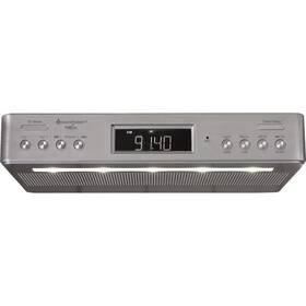 Radiopřijímač s DAB+ Soundmaster UR2045SI stříbrný