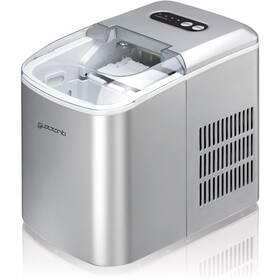 Výrobník ledu Guzzanti GZ 120 stříbrný
