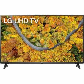 Televize LG 50UP7500 černá