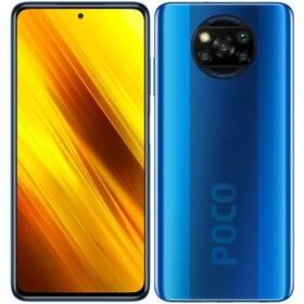 Mobilní telefon Poco X3 64 GB - ZÁNOVNÍ - 12 měsíců záruka modrý