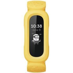 Fitness náramek Fitbit Ace 3 Minions Edition - černá/žlutá (FB419BKYW)