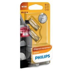 Autožárovka Philips Vision W5W, 2ks
