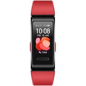 Fitness náramek Huawei Band 4 Pro (55024890) červený