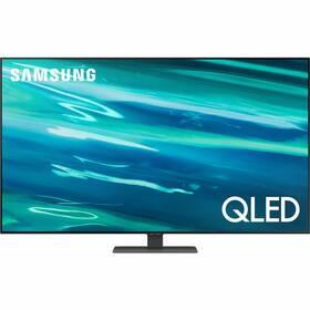Televize Samsung QE55Q80AA stříbrná