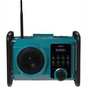 Stavební rádio Denver WRB-50 zelený