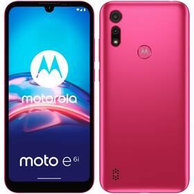 Mobilní telefon Motorola Moto E6i - ZÁNOVNÍ - 12 měsíců záruka - Rosa