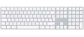 Klávesnice Apple Magic s numerickou klávesnicí - Czech (mq052cz/a) bílá