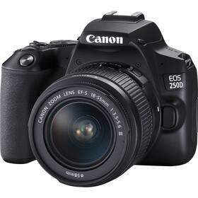 Digitální fotoaparát Canon EOS 250D + 18-55 DC III (3454C003) černý