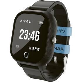 Chytré hodinky LAMAX WatchY2 - ZÁNOVNÍ - 12 měsíců záruka černý