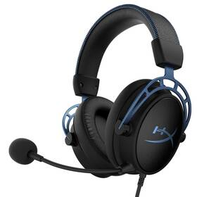 Headset HyperX Cloud Alpha S (HX-HSCAS-BL/WW) černý/modrý