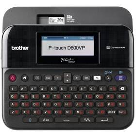 Tiskárna štítků Brother PT-D600VP s kufrem (PTD600VPYJ1)