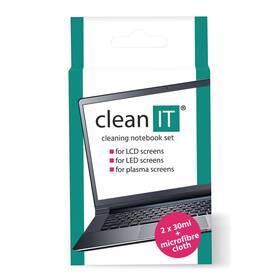 Čisticí sada Clean IT roztok na notebooky s utěrkou, 2x30ml (CL-182)