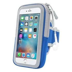 """Pouzdro na mobil sportovní Forever Zipper 6.0"""" modré"""