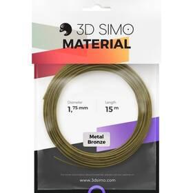 Náplň 3D SIMO METAL - bronzová 15m (G3D3006)