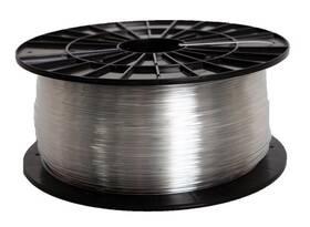 Tisková struna Filament PM 1,75 PETG, 1 kg (F175PETG_TR) průhledná