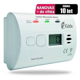 Detektor oxidu uhelnatého Kidde 10LLDCO odolný proti vlhkosti (Kidde 10LLDCO)