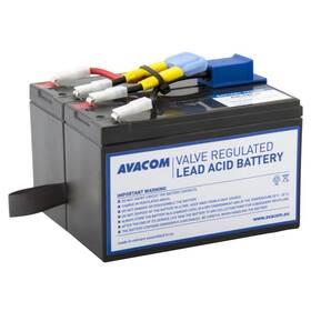 Akumulátor Avacom RBC48 - náhrada za APC (AVA-RBC48) černá