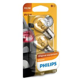 Autožárovka Philips Vision P21/5W, 2ks (12499B2)